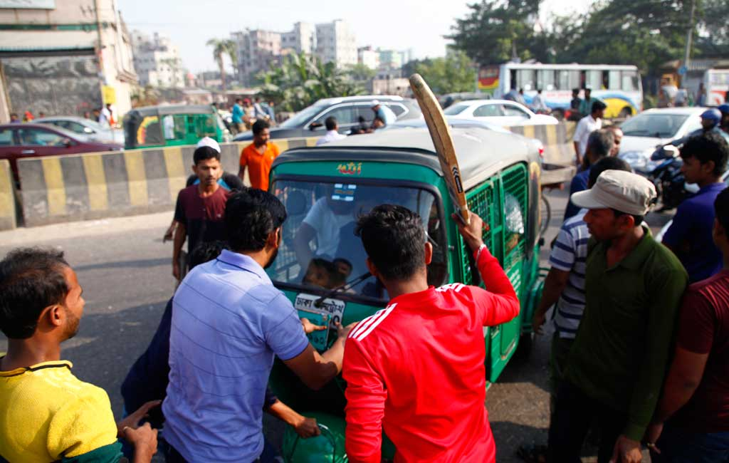 Bangladesh Transport workers end blockade