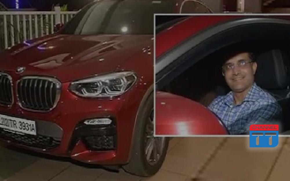 Saurav's luxurious BMW X4 series