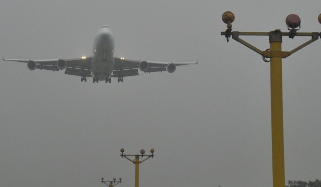 Chattogram's 5 flights forced to land in Shahjalal