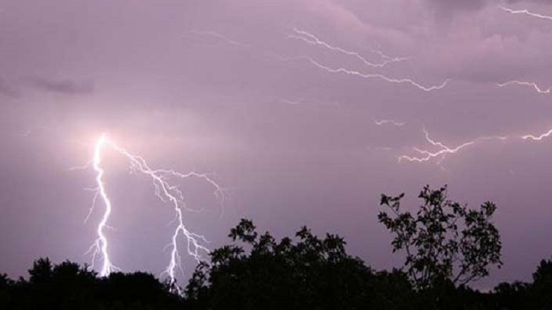 Possibility of wind and thunder