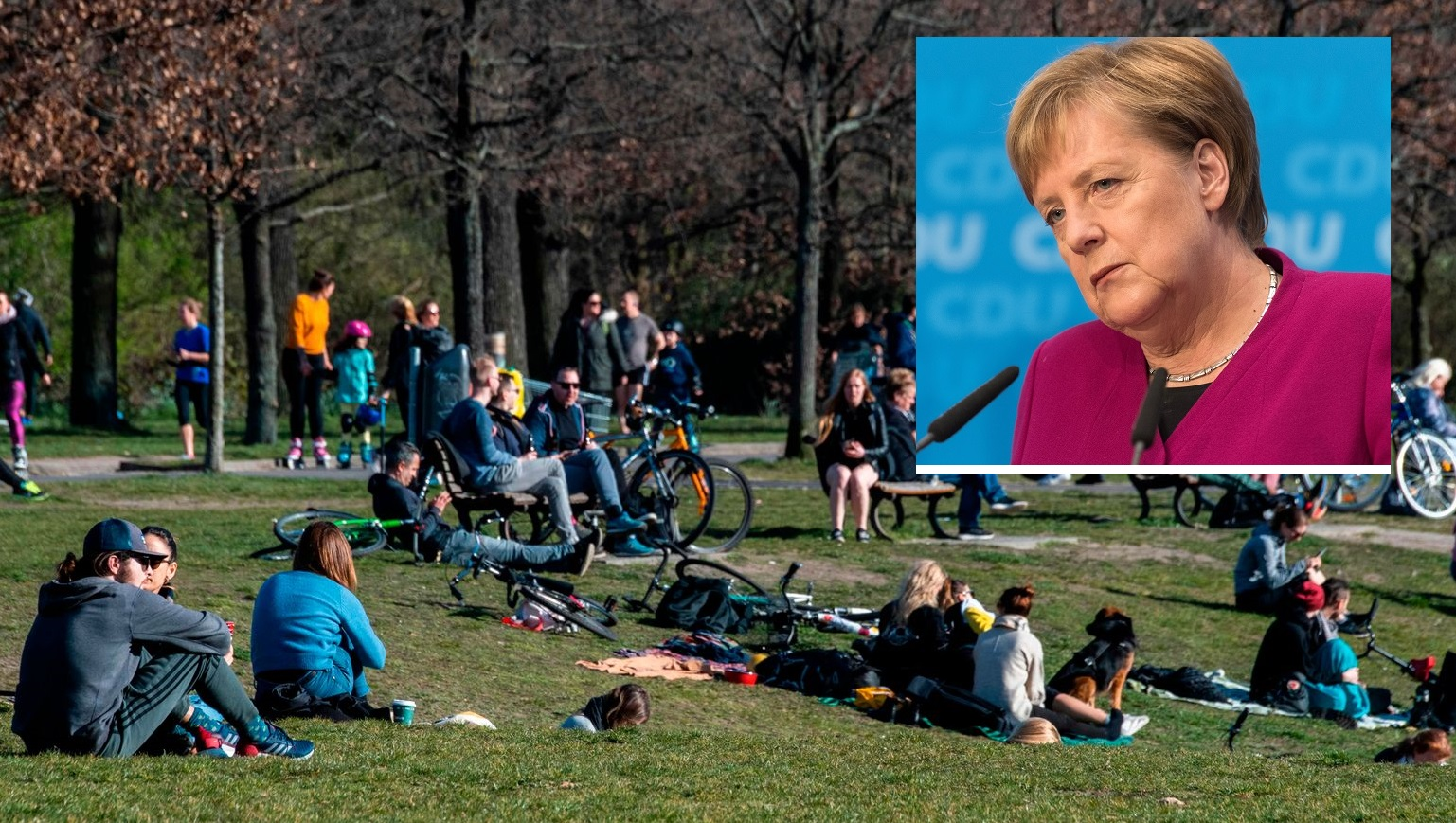 German Chancellor Angela Merkel Has Been Quarantined
