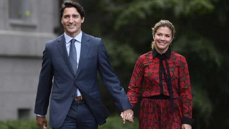 Trudeau's wife, Sophie, is recovering