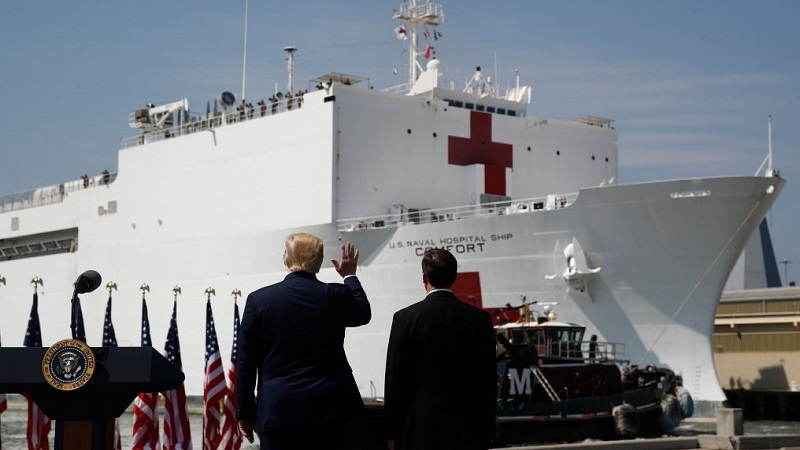 Trusted Naval Hospital on the way to New York