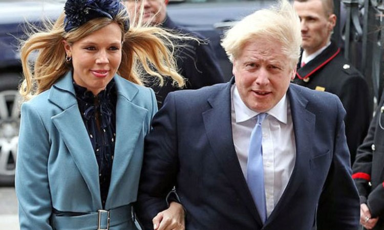 British Prime Minister's  girlfriend is also suffering from corona virus