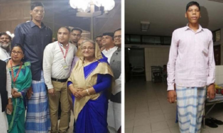 Jinnat Ali, the world's second tallest man, has died