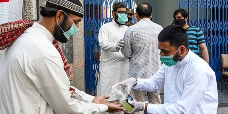 Pakistan has the highest number of coronavirus cases in a single day.