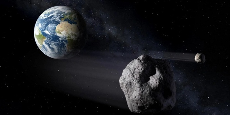 Mankind survived, the 'destructive' asteroid passed over the earth