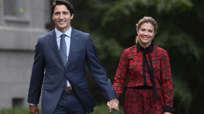 Prime Minister Justin Trudeau's  wife Sophie Gregory has been attacked in Corona virus