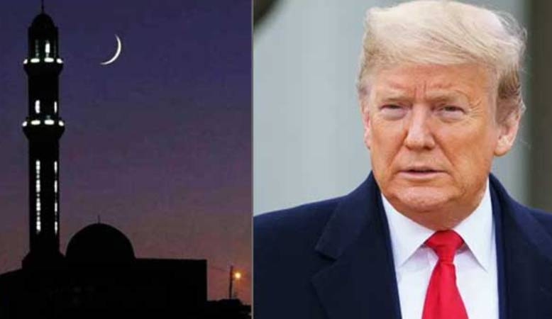 President Donald Trump wished Ramadan
