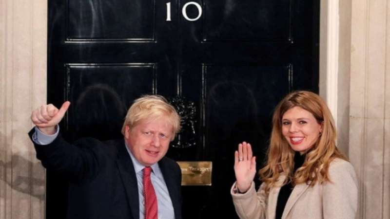Boris Johnson's girlfriend Carrie Symonds has become the mother of a son