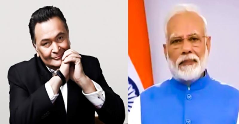 Prime Minister Narendra Modi's deepest condolences on the passing of Rishi Kapoor