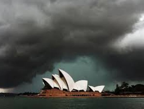 This time Australia is handling the storm