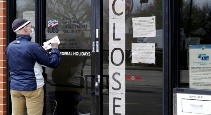 The number of new unemployed in the United States has exceeded four crore