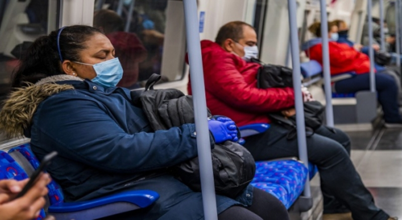 Britain has made it compulsory to wear a mask on public transport