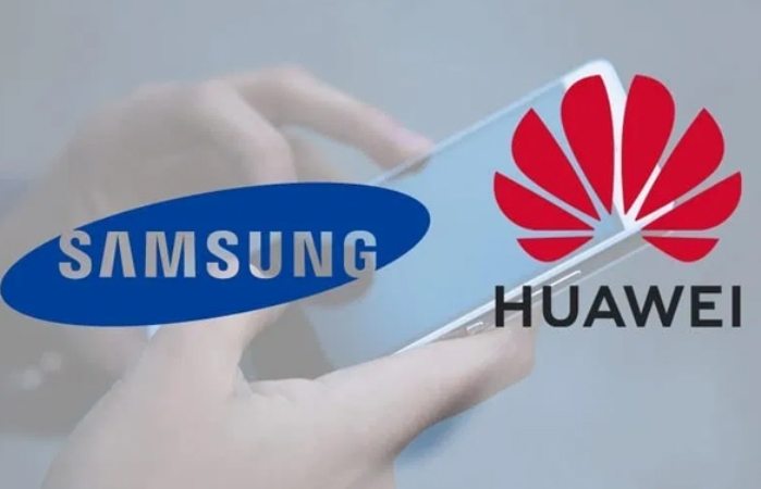 Huawei is the top smartphone maker ahead of Samsung