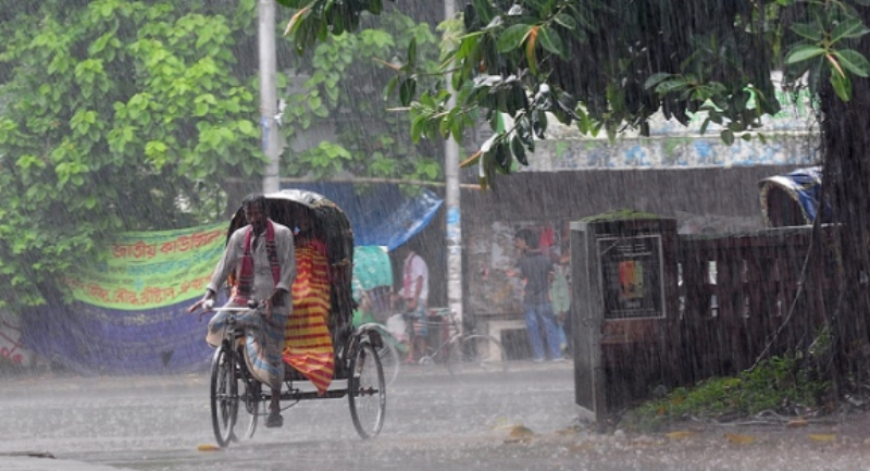 Rain is forecast across the country for five consecutive days