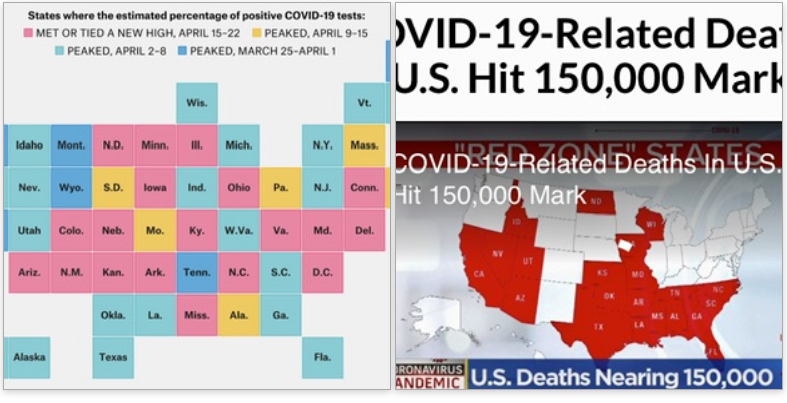 COVID-19-Related Deaths In U.S. Hit 150,000 Mark